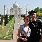 San Francisco meets the Taj Mahal during our May 2012 tour!