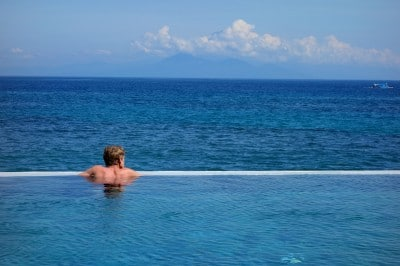 We can have you lounging in this exact pool in no time. (Photo: Lombok, 2013)