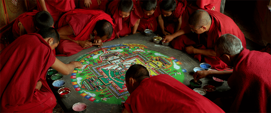 Thiksey Monastery in 'Samsara'