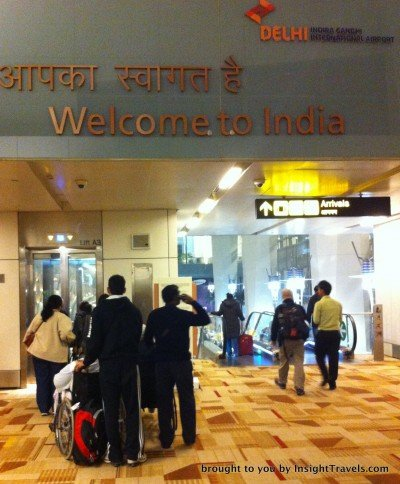 headed to delhi airport immigration