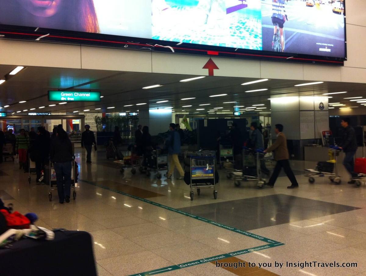passport control at airport in india