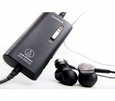 Audio-Technica ATH ANC23 QuietPoint - Headphones active noise canceling earbuds