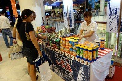 american junk food in bangkok taste of USA