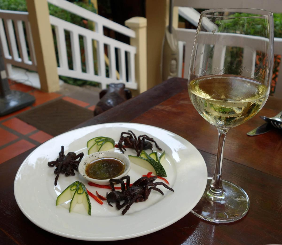 Eating Tarantulas in Cambodia: The Good, The Bad & The Eight-Legged