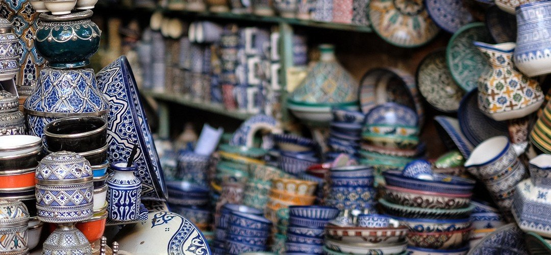 moroccan pottery header