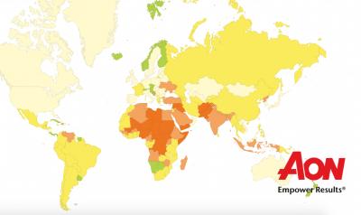 AON terrorism map